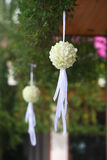 Outdoor wedding Stock Image