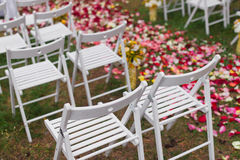 Free Outdoor Wedding Scene Royalty Free Stock Images - 48002069