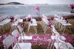 Outdoor wedding Scene Royalty Free Stock Photography