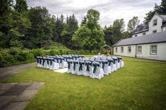 Outdoor wedding Royalty Free Stock Image