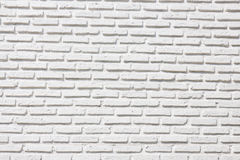 Outdoor white brick wall texture Royalty Free Stock Images
