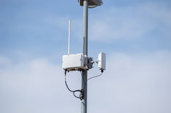 Outdoor Wireless Access Royalty Free Stock Photos