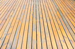 outdoor wooden boards Royalty Free Stock Photo