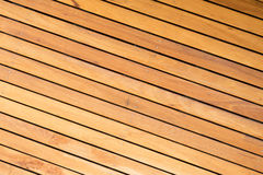 Outdoor wooden deck Royalty Free Stock Photos