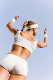 Outdoor workout Royalty Free Stock Photo