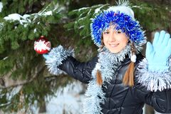 Outdoor xmas Royalty Free Stock Image