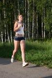 outdoors детеныши женщины Стоковое Фото