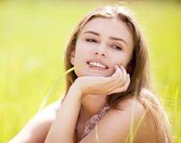 outdoors женщина Стоковое фото RF