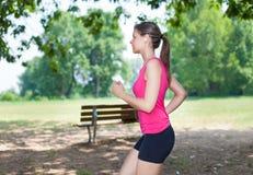 outdoors женщина стоковое изображение