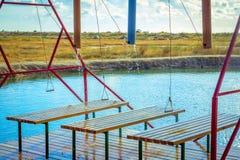 Outdoors оборудование ливня массажа воды Стоковое Фото