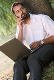 outdoors работающ Стоковое фото RF