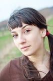 outdoors ся женщина Стоковое Фото