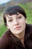 outdoors ся женщина стоковое фото rf