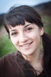 outdoors сь женщина стоковое фото rf