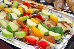 Outdoors Barbecue BBQ grill party Stock Photography