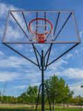Outdoors basketball hoop Stock Photos