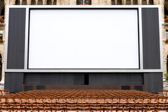 Outdoors cinema Stock Images