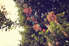 Outdoors decorations Royalty Free Stock Images