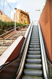 Outdoors escalators Stock Photos