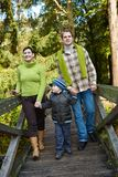 Outdoors family time Stock Images