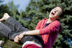 Outdoors fun Royalty Free Stock Images