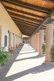 Outdoors korytarz Obrazy Stock
