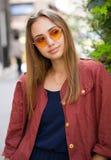 Outdoors lato moda zdjęcia stock
