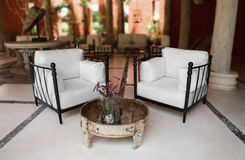 Outdoors living room Stock Photography