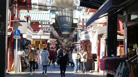 Outdoors Market, Tokyo royalty free stock images