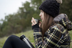 Outdoors in nature. Stock Images
