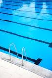 Outdoors pływacki basen Obraz Royalty Free
