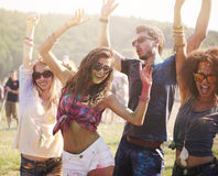 Outdoors party Royalty Free Stock Photos