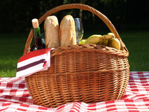 Outdoors picnic Stock Photo