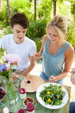 Outdoors picnic Stock Image