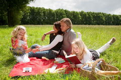 Outdoors picnic Royalty Free Stock Photography