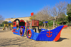 Outdoors playground Royalty Free Stock Photo