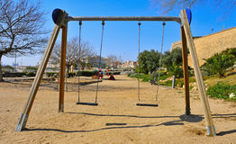 Outdoors playground Royalty Free Stock Image