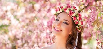 Amazing natural spring beauty. Stock Images