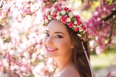 Amazing natural spring beauty. Royalty Free Stock Images