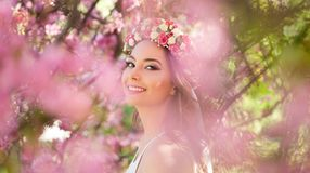 Amazing natural spring beauty. Stock Photos