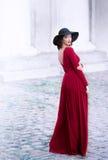 Outdoors portrait of an elegant woman Royalty Free Stock Photos