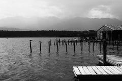 Corsican lake stock photo