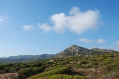 Outdoors in sardinia. Natural environment of sardinian countryside Royalty Free Stock Photography