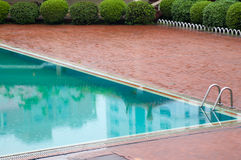 Outdoors Spa swimming pool. Royalty Free Stock Photography