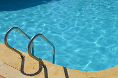 Outdoors Swimmingpool. As concept for leisure, holiday and summertime Royalty Free Stock Image
