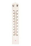 Outdoors thermometer Royalty Free Stock Images