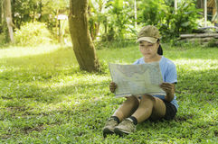 Outdoors tourism. Stock Images