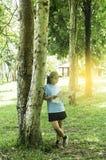 Outdoors tourism. Stock Photo