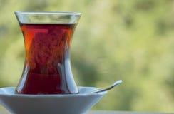 Outdoors Turecka herbata Fotografia Royalty Free