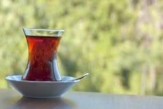 Outdoors Turecka herbata Zdjęcie Royalty Free